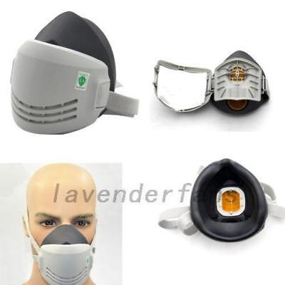 Silicon Reusable Anti-Dust Paint Respirator Welding Safety Industrial Mask/Filte