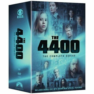 4400 - The Complete Series (DVD, 2008, 15-Disc Set)