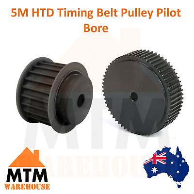 5M HTD Timing Belt Pulley Industrial CNC Pilot Bore