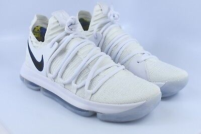 huge discount 5ff7f 3520d Nike Zoom KD10 KDX 897815-101 White Game Royal Kevin Durant Mens Basketball