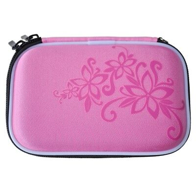 Abrasion hard disk Portable Drive Zipper Cover Case Bag 2.5 '' HDD Bag pink K3T9