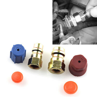 AC A/C System Cap & Valve Cores Rapid Seal Kit Air Conditioning Service kit