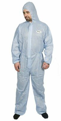 50 X  Sms Fabric Asbestos Rated Suit Disposable Coveralls Type 5 & 6