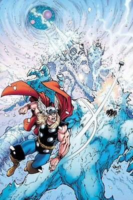 Thor : Where Walk The Frost Giants #1 1St Print - Marvel - Boarded. Free Uk P+P
