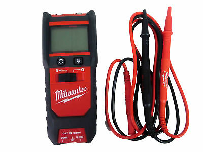 Milwaukee 2213-20 600V Auto Voltage Continuity Tester with Resistance
