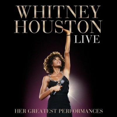Whitney Houston Live Her Greatest Performances CD (2014) NEW Ultimate Live Album