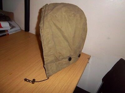 Barbour Sand/thorn Wire Framed Waxed Hood Size L Beaufort Bedale Border Gamefair