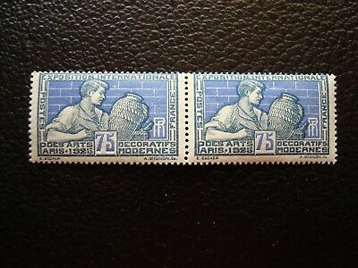 FRANCE - stamp yvert and tellier n ° 214 x2 (TU n) stamp french