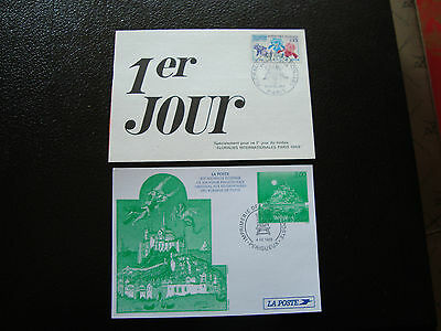 FRANCE - 2 cards 1969 1998 (cy35) french