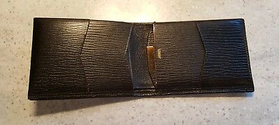 Amity Vintage Mahogany Brown Leather Men's Wallet New with Tags Director's Model