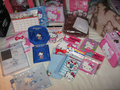 Hello Kitty Lot: Stationery, Accessories, Mini-Blankets, etc. UPDATED