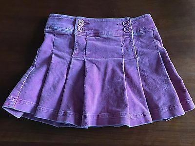 girls size 9-10Y MINI BODEN - pink corduroy  skirt