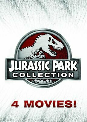 Jurassic Park DVD Collection (6-Disc) Includes All 4 Movies FREE EXP SHIPPPING