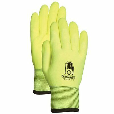 LFS Glove C4001XXL Work Gloves, Dual Layer Seamless Insulated Knit Liner, Pvc