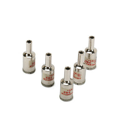 5Pc 20mm Diamond Coated Drill Bit Hole Cutter Saw Glass Tile Ceramic Marble New