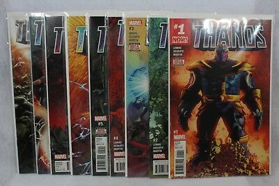 Marvel Comics THANOS #1-9 Regular Covers First Print