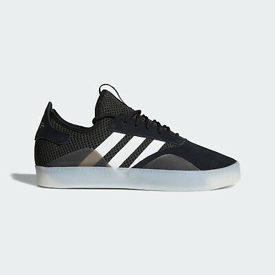 outlet store fbc1a 387e0 Adidas - 3ST .001  Mens Skate Shoes  Black  White  Silver