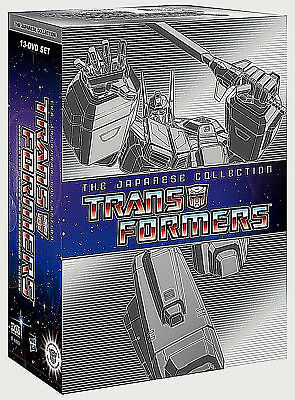 Transformers The Japanese Collection Complete Series 1-4  Boxed DVD SET