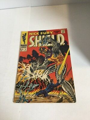 Nick Fury Agent Of Shield Vg Very Good 4.0 Rust On Staple Silver Age