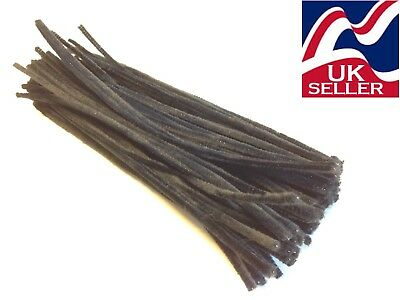 10-1000 beige chenille craft stems pipe cleaners 30cm long,6mm wide