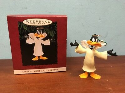 Daffy Duck Angel Keepsake Christmas Ornament Looney Tunes Collection Toons 1994