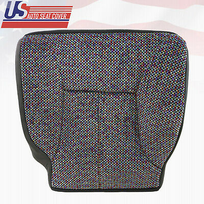 1998-2002 Dodge Ram 1500 2500 3500 Slt Driver Bottom Cloth Seat Cover Agate Gray
