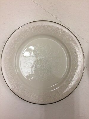 Noritake Ivory China 7192 Affection Pair Of Bread And Butter Plates A 025 A026