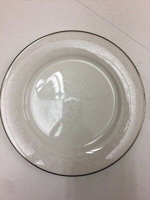 Noritake Ivory China 7192 Affection Pair Of Bread And Butter Plates A023JL