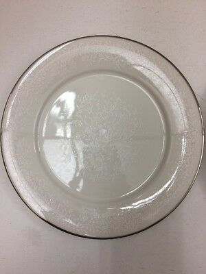 Noritake Ivory China 7192 Affection Pair Of Dinner Plates A025JL