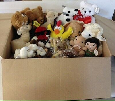 plush toys Bulk Assortment Lot 400 pieces. Great for claw machine refills.