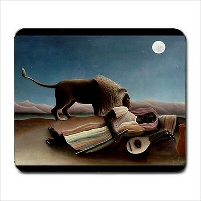 The Sleeping Gypsy Henri Rousseau Art Computer Mouse Pad Mat Mousepad New