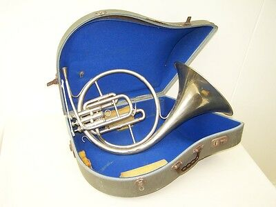 Nice Old Horn In The Original Case for Besson Excellence Paris
