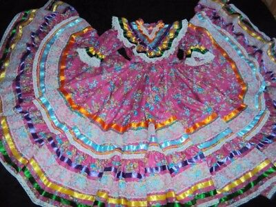 Mexican Folkloric Jalisco Style Dance,Ballet,Size s-M