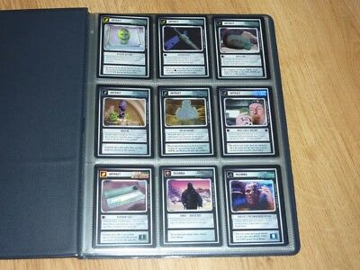 Star Trek CCG Reflections - Full Set Ultra Super Rare Foil Cards BB NM-MT to MT