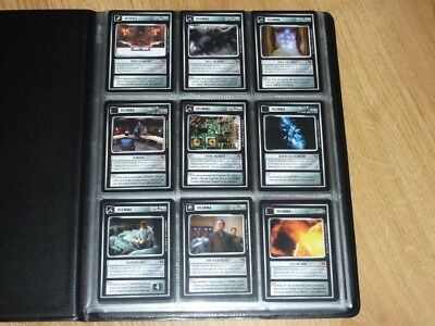 Star Trek CCG Blaze of Glory Full Set + 18 Ultra Super Rare Foil Cards NM to MT