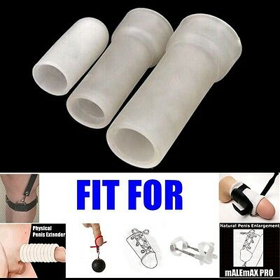 Silicone Sleeve Replacement for Penis Extender Stretcher Enhancer Enlarger