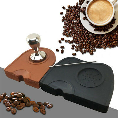 Silicone Coffee Anti-slip Pressure Pad Mat Coffee Tamper Tamping Holder Tools