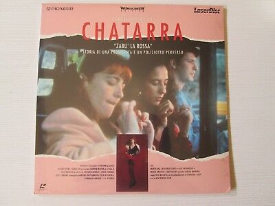 CHATARA / ZABU LA ROSSA Felix Rotaeta LASERDISC FILM MOVIE NO DVD LASER DISC