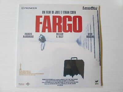 FARGO LASER DISC FILM MOVIE Joel Ethan Coen LASERDISC NO DVD