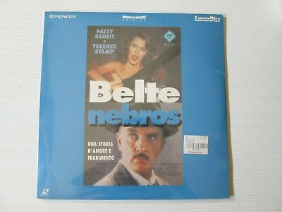 BELTE NEBROS LASERDISC Pilar Miro SEALED! RARE FILM MOVIE LASER DISC