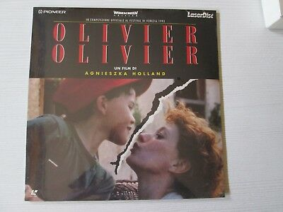 OLIVIER OLIVIER Laserdisc FILM MOVIE AGNESZKA HOLLAND LASER DISC NO DVD SEALED