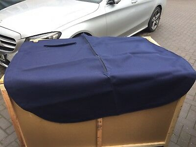 Mga Tonneau In Blue Mohair Long Type  Left Hand Drive Cars