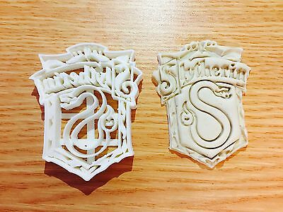 Slytherin badge Harry potter Biscuit Cookie Cutter Fondant Cake Decorating Mold