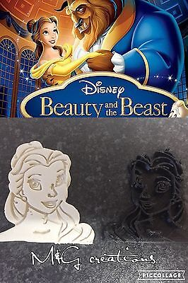 Belle Beauty And The Beast Plastic Cookie Cutter Fondant Cake Decorating Cupcake