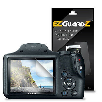 4X EZguardz LCD Screen Protector Skin Cover Shield 4X For Canon Powershot SX530