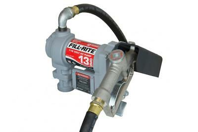 Fill-Rite Fuel SD602G Fluid Transfer Pump, Adjustable Suction Pipe, 10'...