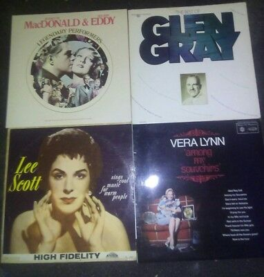 40s 50s old time joblot of 12 vinyl records FREE DELIVERY