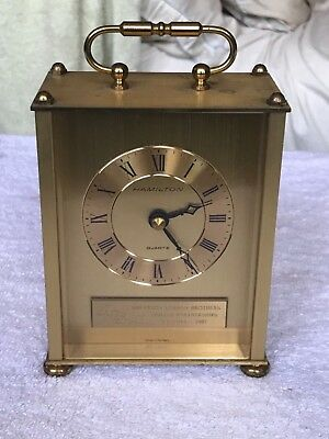 Shearson Lehman Brothers Limited Partnerships - Atlanta - Hamilton Quartz Clock