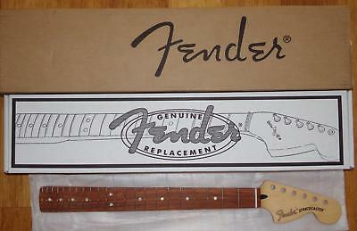 "Fender® Deluxe Series Strat Maple/Pau Ferro Neck~22 Jumbo Frets~12""~Brand New"