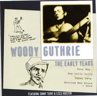 Woody Guthrie – The Early Years-CD-2000 MasterSong Australia – 503562